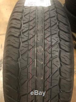 4 NEW 265/70R17 Dunlop Grendtrek AT20 Tires 265 70 17 2657017 R17 Factory Tires