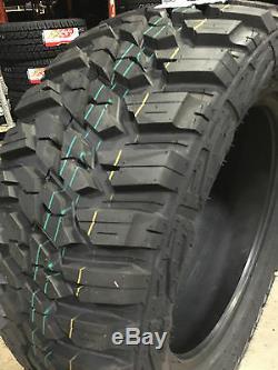 4 NEW 265/70R17 Kanati Mud Hog M/T Mud Tires MT 265 70 17 R17 2657017 10 ply