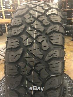 4 NEW 265/70R17 Kenda Klever RT KR601 265 70 17 2657017 R17 Mud Tire AT MT 10ply