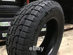 4 NEW 275/65R20 Crosswind A/T Tires 275 65 20 2756520 R20 AT 10 ply All Terrain