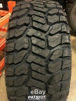 4 NEW 275/70R18 Patriot R/T LRE All Terrain Mud Tires 2757018 275 70 18 LT275