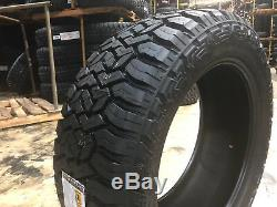 4 NEW 285/55r20 Fury Off Road Country Hunter R/T Tires Mud A/T 285 55 20 R20