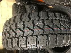 4 NEW 305/55R20 LRE Fury Off Road Country Hunter M/T Mud Tires 305 55 20 3055520