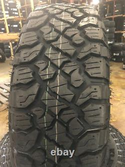 4 NEW 33X10.50R17 Kenda Klever RT 33 10.50 17 33105017 R17 Mud Tires AT MT 10ply