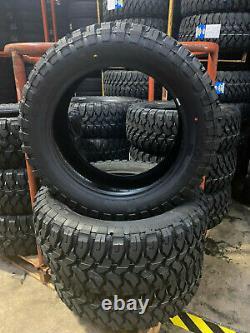 4 NEW 33X12.50R20 Comforser CF3000 Mud Tires M/T 33125020 R20 1250 12.50 33 20