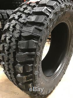 4 NEW 33X12.50R20 Federal Couragia Mud Tires M/T 33125020 R20 1250 12.50 33 20