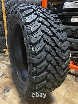 4 NEW 33X12.50R20 Venom Terra Hunter M/T 33 12.50 20 R20 Mud Tires AT MT 10ply