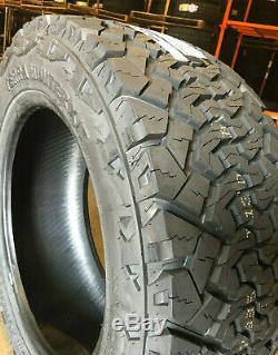 4 NEW 33X12.50R22 Venom Terra Hunter X/T 33 12.50 22 R22 Mud Tires AT MT 10ply