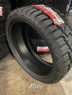 4 NEW 33x12.50R24 Haida R/T HD878 Tires 33 12.50 24 R24 LRE All / Mud Terrain AT