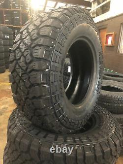 4 NEW 35X10.50R17 Kenda Klever RT 35 10.50 17 35105017 R17 Mud Tires AT MT 8 ply