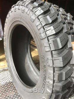 4 NEW 35X12.50R17 Patriot MT Mud Tires M/T 35125017 R17 1250 12.50 35 17 LT LRE