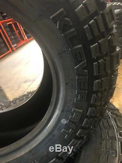 4 NEW 35X12.50R18 Kenda Klever RT 35 12.50 18 35125018 R18 Mud Tires AT MT 10ply