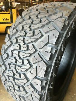 4 NEW 35X12.50R18 Venom Terra Hunter X/T 35 12.50 18 R18 Mud Tires AT MT 10ply