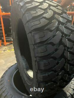 4 NEW 35X12.50R20 Comforser CF3000 Mud Tires M/T 35125020 R20 1250 12.50 35 20