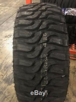 4 NEW 35X12.50R20 Federal Xplora MT 12 PLY Mud Tires 35125020 35 1250 12.50 20