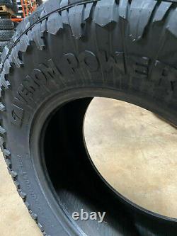 4 NEW 35X12.50R20 Venom Terra Hunter R/T+ 35 12.50 20 LRE AT/ MT Tires AT 10ply