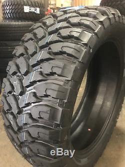 4 NEW 35X12.50R22 Comforser CF3000 Mud Tire M/T MT 35125022 R22 1250 35 12.50 22