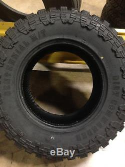 4 NEW 35x12.50R20 Centennial Dirt Commander M/T Mud Tires MT 35 12.50 20 R20 LRF