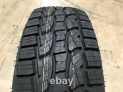 4 NEW 35x12.50R20 Crosswind A/T Tires 35 12.50 20 35125020 R20 AT 10ply 35-12.50