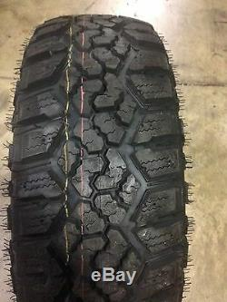 4 NEW 35x12.50R20 Kanati Trail Hog LT Tires 35 12.50 20 R20 3512.5020 10 ply