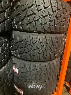 4 NEW 35x12.50R20 LANDSPIDER WILDTRAXX Tires M/T 35 12.50 20 LRE MT Mud Terrain