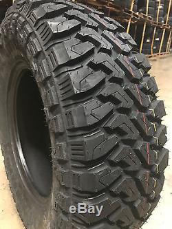 4 NEW 35x12.50R22 Centennial Dirt Commander M/T Mud Tires MT 35 12.50 22 R22 LRF
