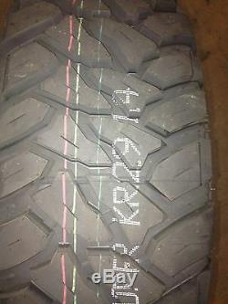4 NEW 35x12.50r17 Kenda Klever M/T KR29 Mud Tire 35 12.50 17 1250 R17 MT 10 ply
