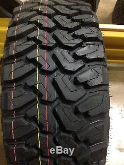 4 NEW LT 35x12.50R17 Cent Dirt Commander M/T Mud Tires MT 35 12.50 17 R17 10ply