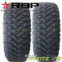 4 NEW RBP Repulsor M/T 275/65R18LT 10P 123/120Q Off-Road JEEP/Truck Mud Tires