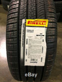 4 New 215 55 17 Pirelli Pzero All Season Tires