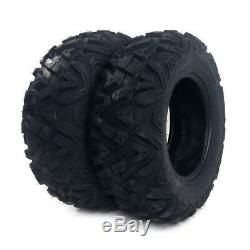 4 New 26x9-12 26x11-12 big TIRE SET FOUR ATV TIRES 6 PLY 26 horn Front Rear