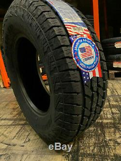4 New 33x12.50r20 Federal Xplora Ap Tires 33 12.50 20 1250 All Terrain Lre