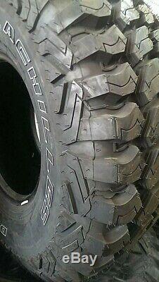 4 New Achilles Desert Hawk X-mt Lt33x12.50r20 Tires 33125020 33 12.50 20