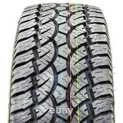 4 New Americus All Terrain LT 35X12.50R17 121S E 10 Ply AT All Terrain Tires