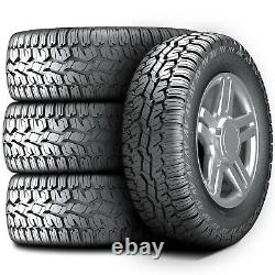 4 New Armstrong Tru-Trac AT 225/65R17 102H A/T All Terrain Tires