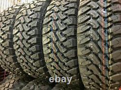 4 New Centennial Dirt Commander M/T LT 37X13.50R22 Load F 12 Ply MT Mud Tires