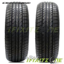 4 New Crosswind HP010 205/55R16 91H All Season High Performance Tires