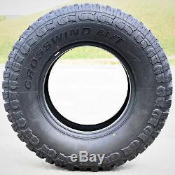 4 New Crosswind M/T LT 315/75R16 Load E 10 Ply MT Mud Tires
