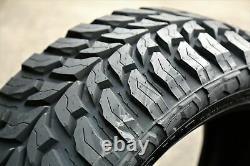 4 New Crosswind M/T LT 35X12.50R24 Load E 10 Ply MT Mud Tires