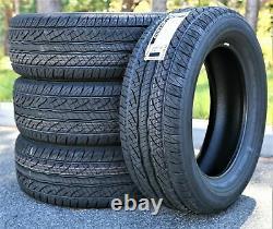 4 New Dunlop SP Sport 5000M 275/55R20 111H XL A/S All Season Performance Tires