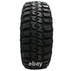 4 New Federal Couragia M/t Lt33x12.50r20 Tires 33125020 33 12.50 20