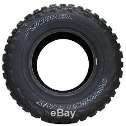 4 New Federal Couragia M/t Lt35x12.50r17 Tires 35125017 35 12.50 17
