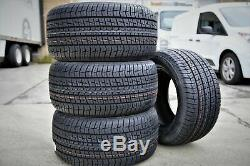 4 New Firestone Firehawk Indy 500 295/50R15 105S SL Performance All Season Tires