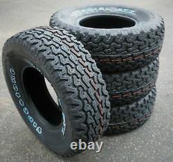 4 New Firestone Radial ATX LT 31X10.50R15 Load C 6 Ply AT A/T All Terrain Tires