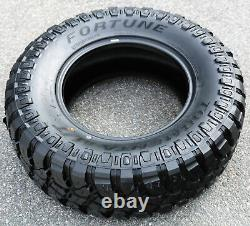 4 New Fortune Tormenta M/T FSR310 LT 265/70R17 Load E 10 Ply MT Mud Tires