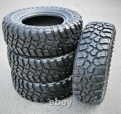 4 New Fortune Tormenta M/T FSR310 LT 265/75R16 Load E 10 Ply MT Mud Tires