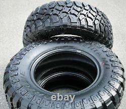 4 New Fortune Tormenta M/T FSR310 LT 285/70R17 Load E 10 Ply MT Mud Tires