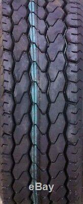 4 New Free Country Trailer Tires ST205/75D15 2057515 205 75 15 F78-15 Bias 11021