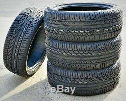 4 New Fullway HP108 215/55ZR17 215/55R17 98W XL High Performance Tires