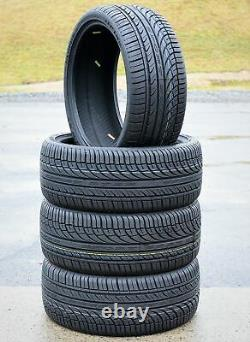 4 New Fullway HP108 255/35ZR20 255/35R20 97W XL A/S All Season Performance Tires